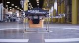 Schon die Idee von den Paket-Drohen war skurril - jetzt möchte Amazon Pakete losschicken bevor sie überhaupt bestellt wurden.  (Bild: Amazon)