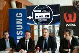 Die neue W24-App wurde kürzlich gemeinsam mit Samsung präsentiert (©w24.at).