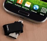 """Der OTG-USB-Stick """"Turn"""" ist besonders platzsparend und praktisch."""