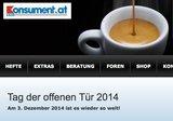 Am 3. Dezember öffnet der Konsument kostenlos 24 Stunden lang sein Archiv - auch für Nicht-Abonnenten. (Bild: Screenshot Konsument)