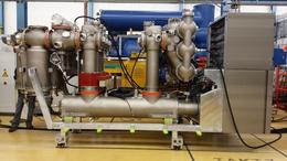 Die erste gasisolierte Schaltanlage (GIS) mit ökoeffizientem Isoliergasgemisch.