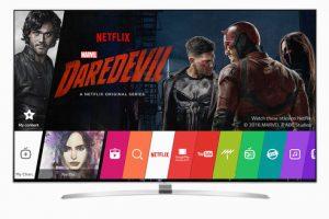 """Von Netflix empfohlene Fernseher zeichnen sich durch ihre ausgezeichnete Leistung und beste Smart TV-Services aus. LG ist nur einer von zwei Herstellern weltweit, der das Siegel """"Netflix Recommended TV"""" trägt. (©LG Electronics Austria)"""