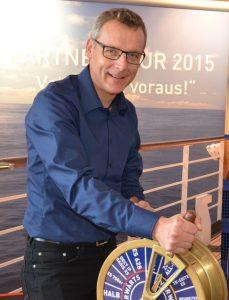 Bei der Einführung des neue Flaggschiffes der ES 7xx-Serie setzt Agfeo auf zwei Veranstlatungsreihen, wie Christian Wallisch, VL Süd/Ost, Österreich erklärte: