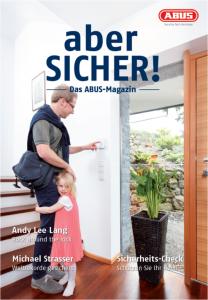"""Das neue ABUS Magazin """"aber SICHER""""…"""