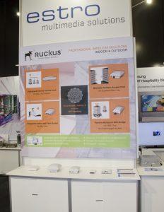 …sowie professionelle Access Points von Ruckus Wireless US in unterschiedlichsten Varianten.