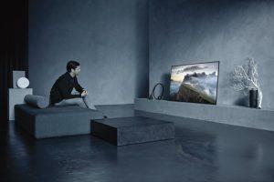 """Auf der CES vorgestellt wird der Bravia OLED 4K HDR TV der Serie A1 ab Mai auch in Österreich verfügbar sein – zunächst in den Größen 65"""" und 55""""."""