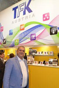 25 Jahre lang leitete Franz Reitler als CEO den Distributor TFK. Jetzt ist der Generationswechsel endgültig abgeschlossen.