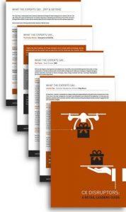 """Der Bericht """"CX Disruptors: A Retail Leaders Guide"""" zeigt auf, wo die größten Herausforderungen und Disruptoren in der Welt des Einzelhandels liegen."""