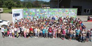 Unter anderem waren rund 300 Schüler zu einer Exkursion eingeladen.