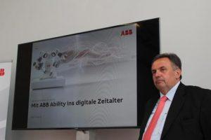 Franz Chalupecky, Vorstandsvorsitzender der ABB AG in Österreich: Aufbauend auf einer über 125 jährigen Tradition der Innovation gestaltet ABB heute die Zukunft der industriellen Digitalisierung und treibt die vierte Industrielle Revolution voran.