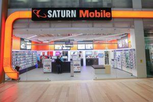 Saturn Mobile Shop eröffnet im EKZ Haid.
