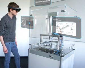 Auch in virtuelle Welten konnte man am Festo-Stand heuer eintauchen. (Fotos: Festo)