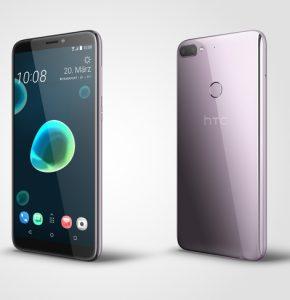 Trotz seines 6 Zoll Displays im 18:9 Format soll das HTC Desire 12+ einhändig bedienbar sein. (Bild: HTC)
