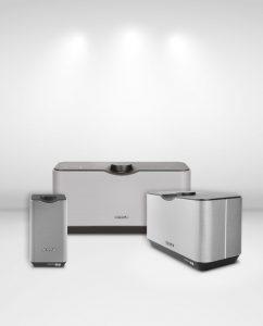 Alle drei Lautsprecher der AUDIOMASTER MR-Serie stehen für exzellenten und satten Sound – und bieten in Kürze erweiterte Streaming-Optionen.