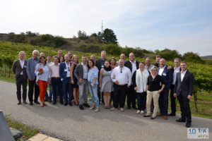 Gemeinsam mit einigen Partnern aus dem Telekom-FH feierten Unify und TFK ihre 10jährige Partnerschaft im Burgenland.