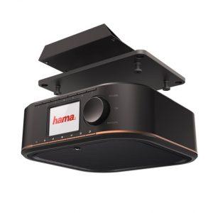 Glasklarer DAB-Sound, portabel und mit bohrfreier Montage – das neue Digitalradio DR350 von Hama.
