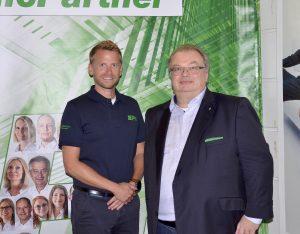 Seit 1. Oktober leitet Jörn Gellermann (re.) gemeinsam mit Michael Hofer als Geschäftsführer die Geschicke von ElectronicPartner Austria.