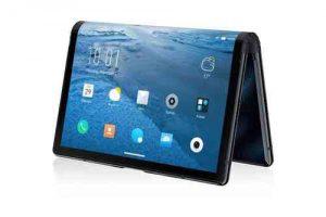 """Das US-Unternehmen Royole hat mit dem """"FlexPai"""" das wohl erste faltbare Consumer-Smartphone/ Tablet auf den Markt gebracht. (Foto: Royole)"""