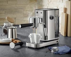 Die WMF Espressomaschine wird sich nicht nur auf der Ambiente präsentieren, sondern wurde auch auf der Livingkitchen gesichtet :-)