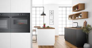 Bosch wird bei der kommenden küchenwohntrends erstmals in Österreich seine Einbaugeräte der accent line carbon black-Familie präsentieren.