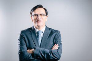 CEO Norbert Kotzbauer präsentiert die globale Markenstrategie von Metz.