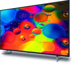LED-TVs in Größen von 24-75 Zoll runden den Messeauftritt ab.