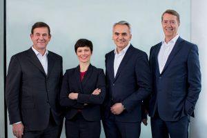 Die BSH Geschäftsführung unter Karsten Ottenberg hat heute in München das Jahresergebnis für 2018 vorgestellt. (Foto: BSH Hausgeräte)