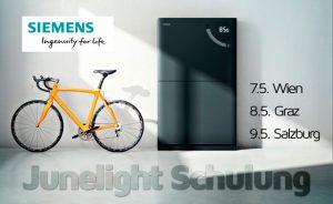 Im Rahmen von drei Schulungsterminen in Wien, Graz und Salzburg vermittelt Suntastic.Solar detailliertes technisches und praktisches Wissen zum Junelight-Stromspeicher von Siemens.
