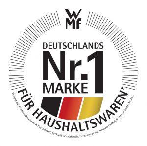 """wmf wurde von Euromonitor International Limited erneut zu """"Deutschlands Nr.1 Marke für Haushaltswaren"""" gewählt. (Bild: wmf)"""