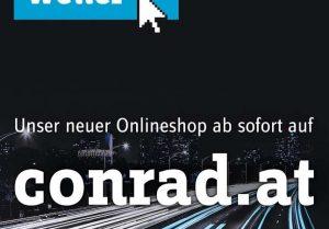 """""""Alles griffbereit auf einer Plattform"""" – business.conrad.at und conrad.at sind jetzt unter einem Dach vereint."""
