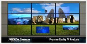 COMM-TEC verkündete außerdem eine exklusive Vertriebspartnerschaft mit DEXON, Hersteller von Videowandcontrollern für Multi-Screen-Videowandprojekte.