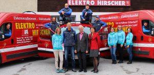 Bei Elektro Hirscher feiert man dieser Tage das 50-jährige Firmenjubiläum.