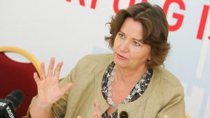 Renate Scheichelbauer-Schuster, Obfrau der Bundessparte Gewerbe und Handwerk, fordert Anreize und Spielräume für die heimischen Betriebe, um das Investitionsniveau hoch zu halten.