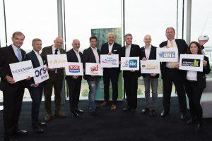 Neun Digitalradios starteten heute den nationalen Sendebetrieb, die ORS Group sorgt für die Infrastruktur.