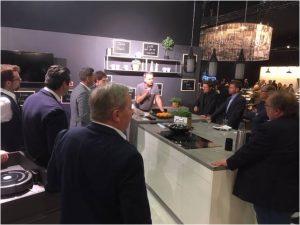 In Salzburg fand zudem ein exklusiver Workshop rund um Küchen und deren Vermarktung statt.