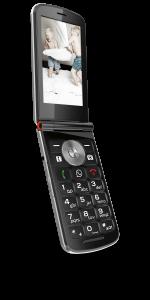 Das emporiaTOUCHsmart mit WhatsApp-Taste soll der älteren Zielgruppe einen leichten Zugang zu Messenger-Diensten bieten.