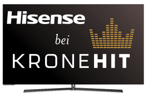 """Ab morgen gibt es den """"Hi Sense""""-Spot auf Krone Hit Radio zu hören."""