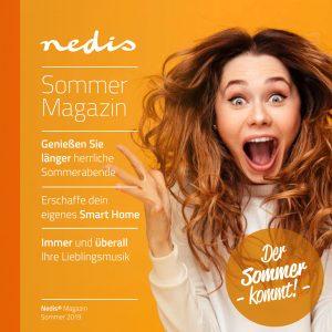 Nedis präsentiert sein Sommer-Magazin, das nur für Österreichische Kunden aufgelegt wurde.
