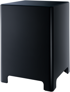 Für satte Bässe lässt sich das System mit dem B100 Bass Module erweitern.