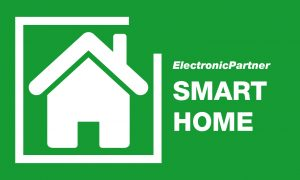ElectronicPartner hat für Verkaufs- und Werbeaktivitäten ein eigenes Smart Home Logo.