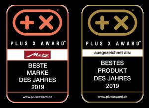 Doppelte Freude bereitete die Jury des Plus X Award mit ihren Entscheidungen dem TV-Hersteller Metz.