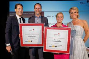 Samsung Austria wurde zum dritten Mal in Folge mit dem Top Service Award ausgezeichnet. (Bild: C. Husar)