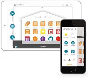 Somfy hat über die Jahre viel Erfahrung im Bereich Smart Home und Vernetzung gesammelt und ist am Markt mit der offenen Lösung TaHoma aktiv.