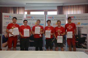 Insgesamt sechs Nachwuchskräfte stellten ihr Können beim Lehrlingswettbewerb im Burgenland unter Beweis.