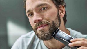 Mit dem Bartschneider 5000 verspricht Philips gleichmäßig getrimmte Bärte in einem Zug.