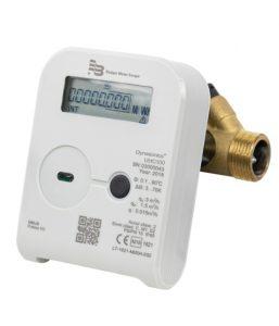 Der neue Inline Wärmemengenzähler HC 100 mit Ultraschalltechnologie.