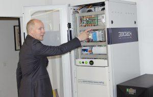 Im Rahmen der alljährlichen Pressekonferenz des PV-Distributors wurde das Speichersystem detailliert vorgestellt.