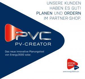 Mit dem PV Creator setzt Energy3000 solar neue Maßstäbe bei der Realisierung von Photovoltaik-Projekten.
