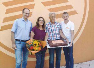 Im Bild von links: Alfred Kapfer, Heidemarie Tisch, Erich Tisch, Matthias Sandtner.