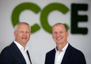 Robert Bogner (li.) und Martin Dürnberger bündeln die Kompetenzen ihrer Unternehmen unter dem Dach der CCE Group.
